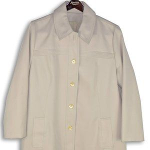 Workers Union Label Light Cream Fall Jacket
